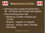 measurement of pulse1