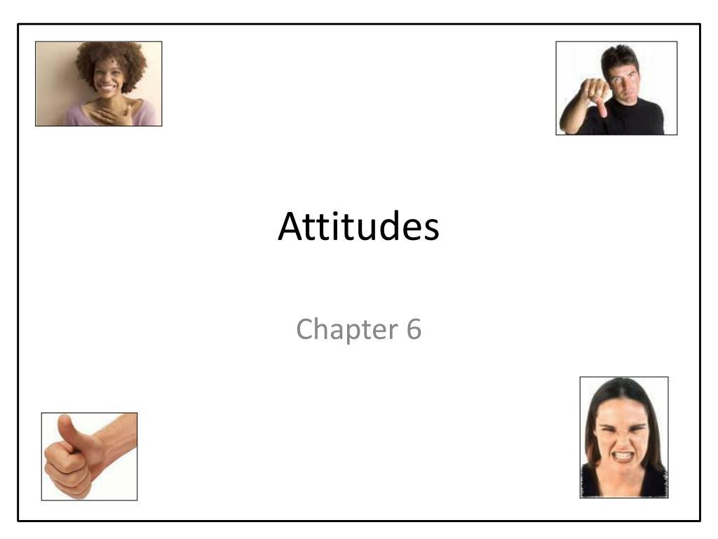 attitudes l.