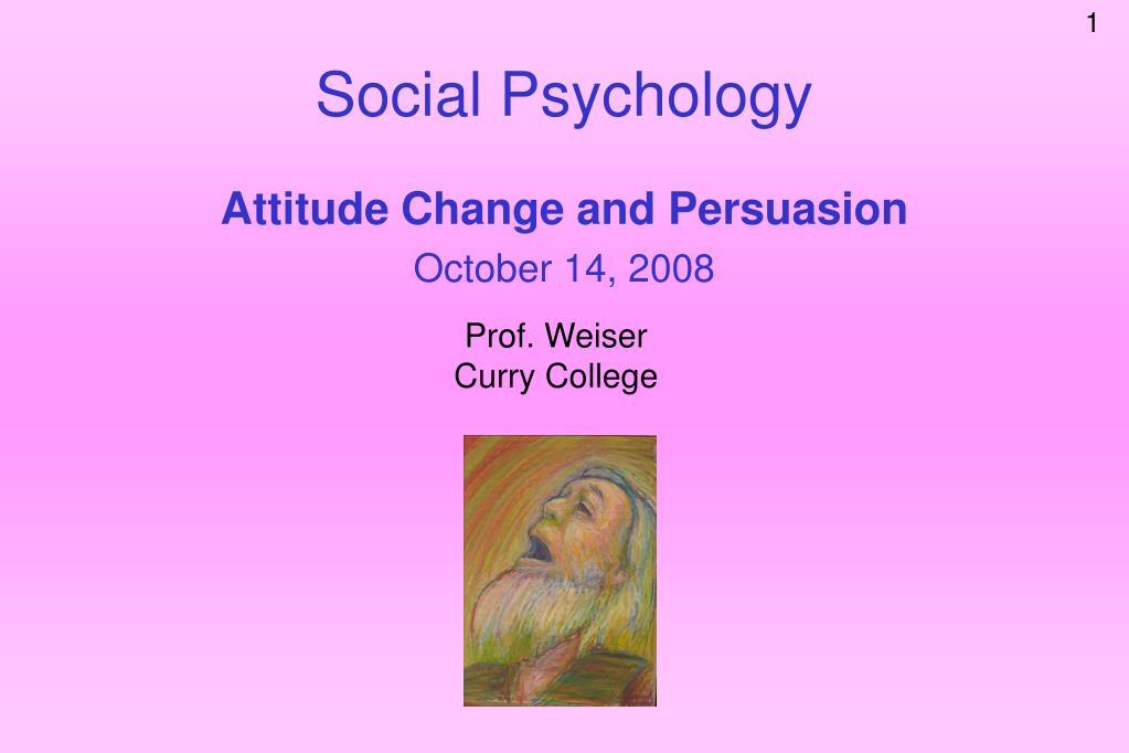 social psychology l.