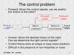 the control problem9