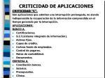 criticidad de aplicaciones8