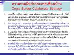cross border collaborate strategy