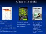 a tale of 3 books