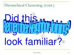 hierarchical clustering cont30