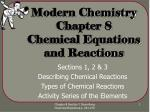 modern chemistry chapter 8 chemical equations and reactions