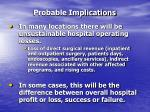probable implications19