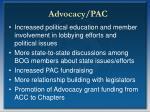 advocacy pac