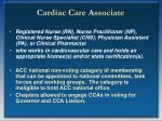 cardiac care associate