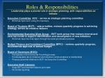 roles responsibilities