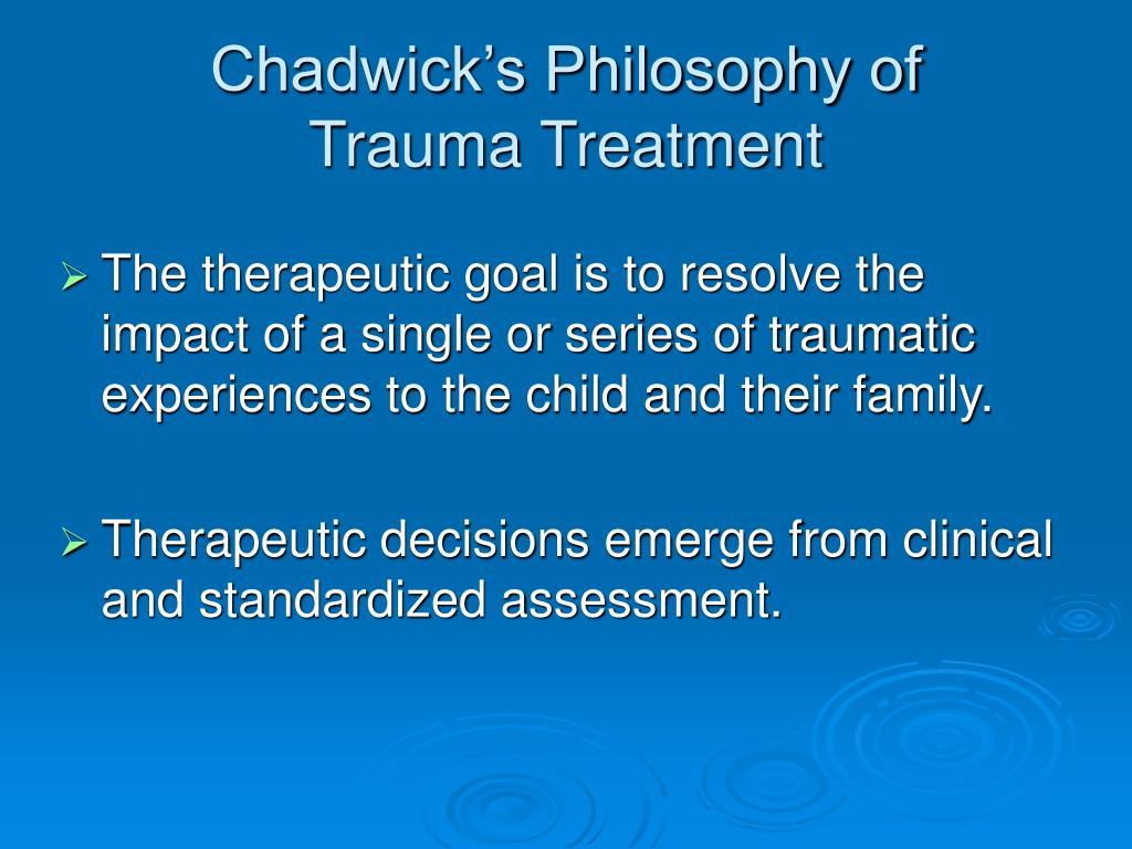 Chadwick's Philosophy of