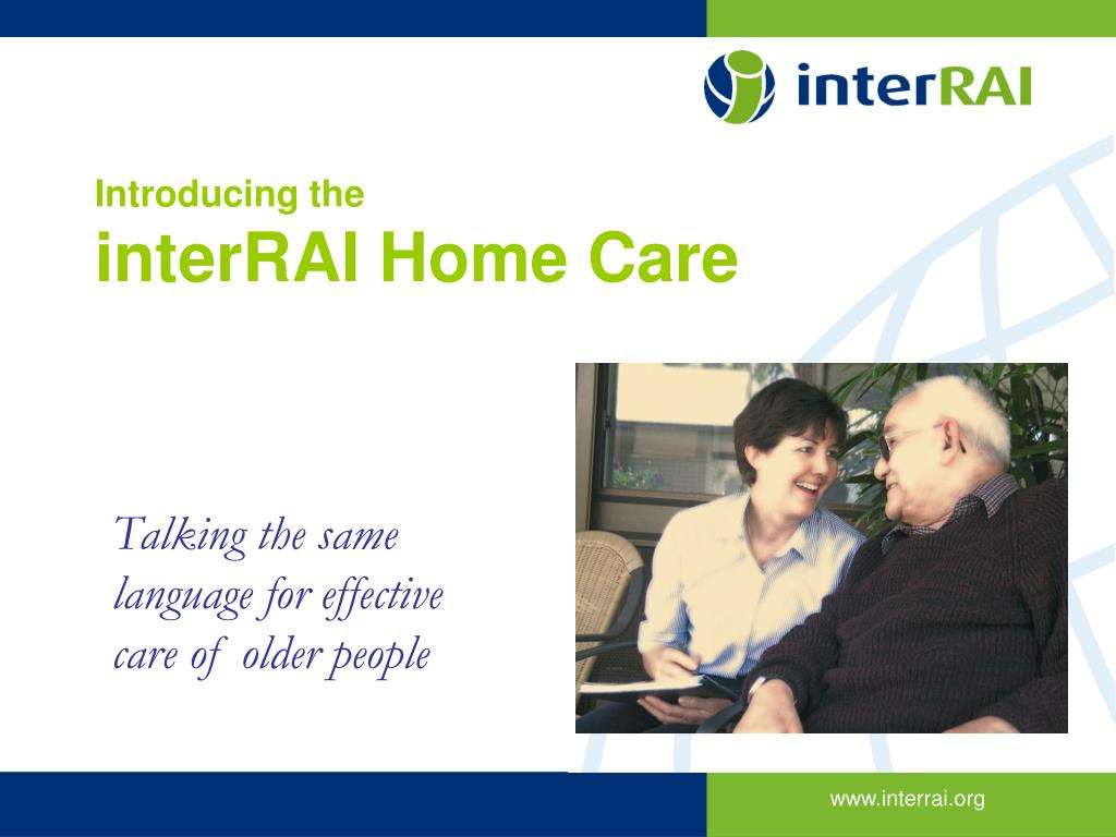 introducing the interrai home care l.