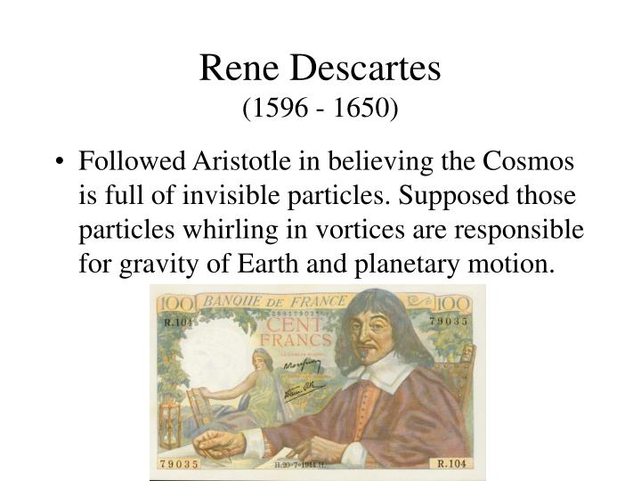 descartes aristotle