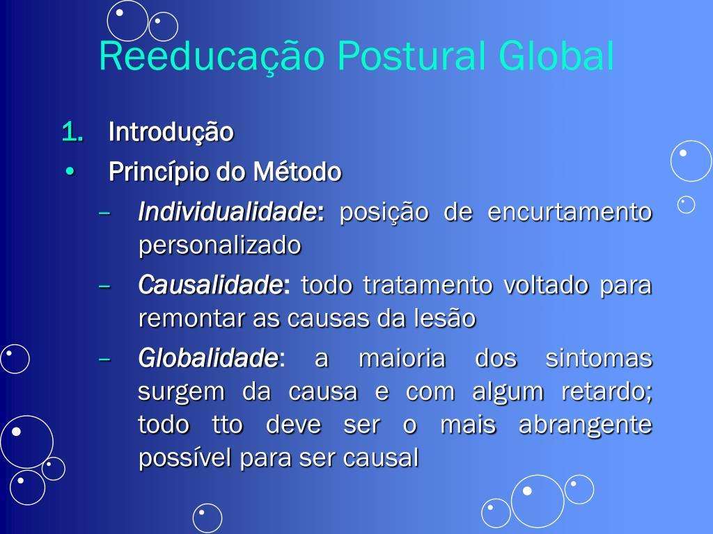 reeduca o postural global l.
