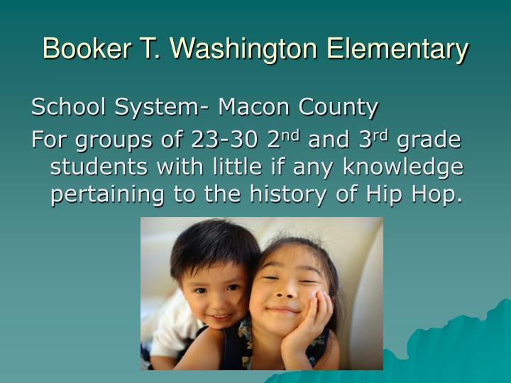 Booker t washington elementary