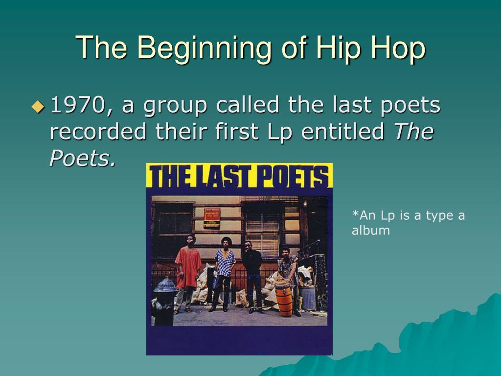 The Beginning of Hip Hop