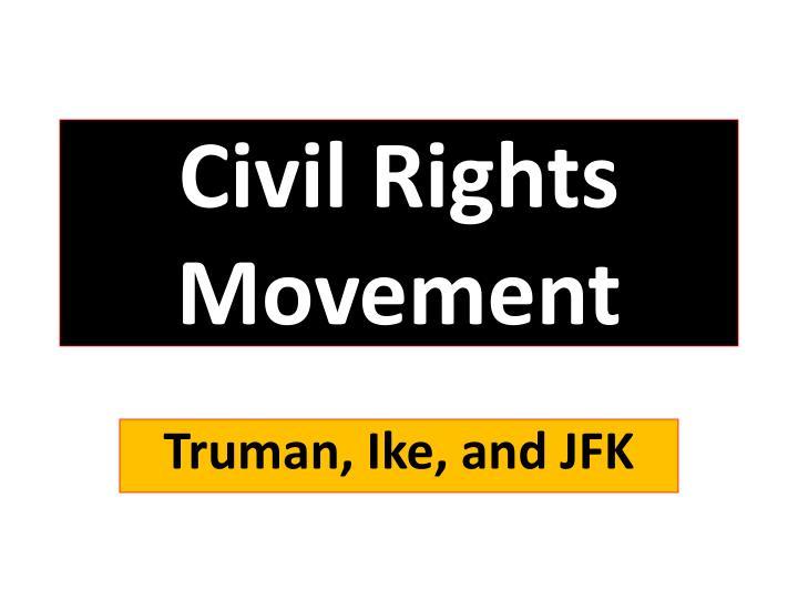 civil rights movement n.