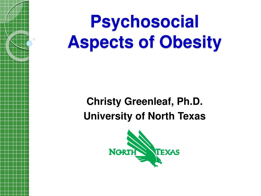 psychosocial aspects of obesity l.