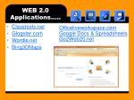 web 2 0 applications2