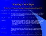 wrestling s vital signs