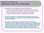 diversity in the workplace business case for diversity