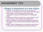 management tips