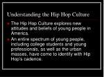 understanding the hip hop culture