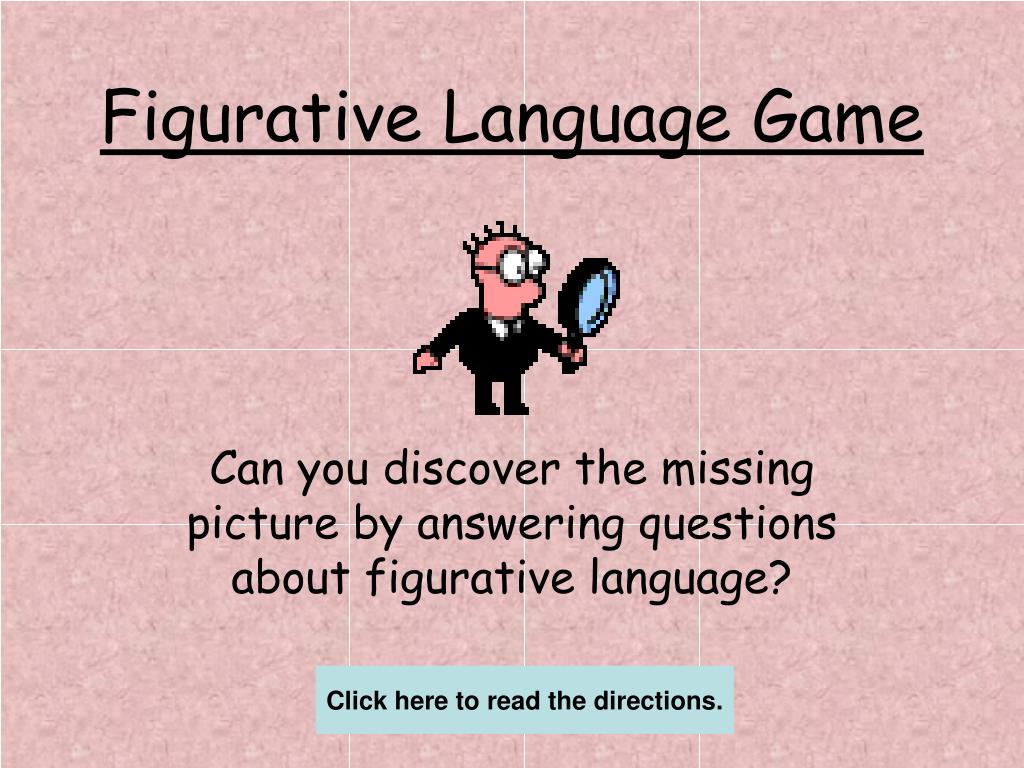 figurative language game l.