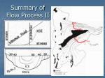 summary of flow process ii