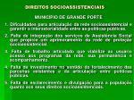 direitos socioassistenciais13