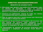 direitos socioassistenciais14