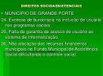 direitos socioassistenciais18