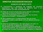 direitos socioassistenciais9