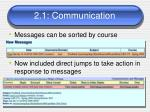 2 1 communication