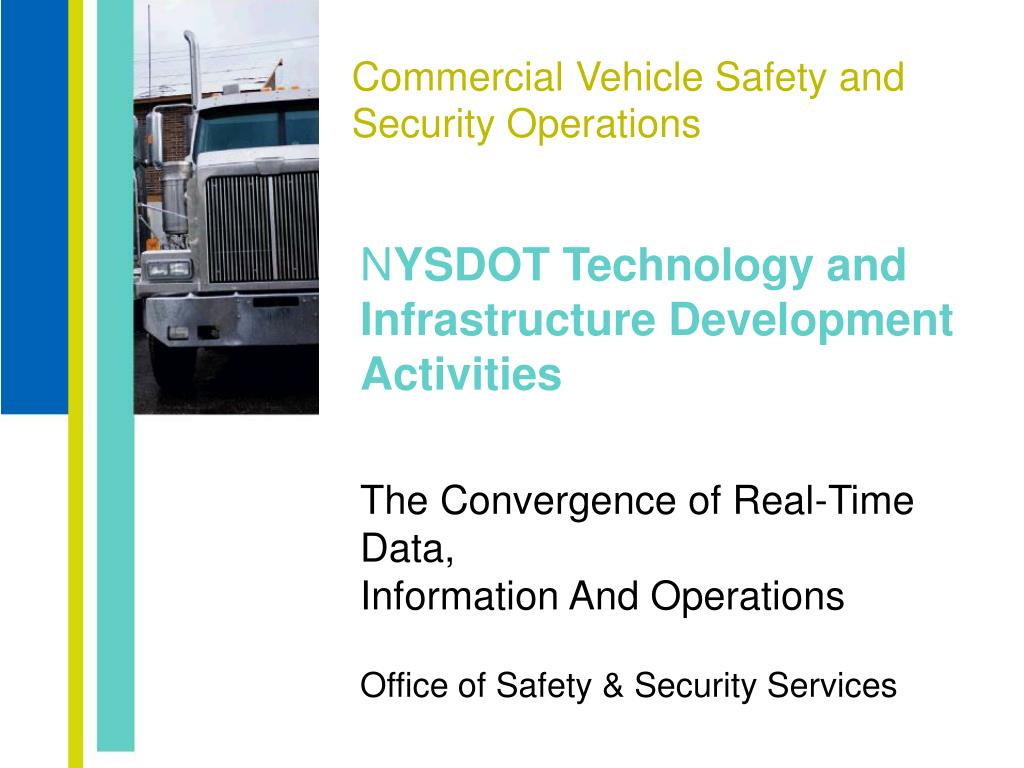 commercial vehicle safety and security operations l.