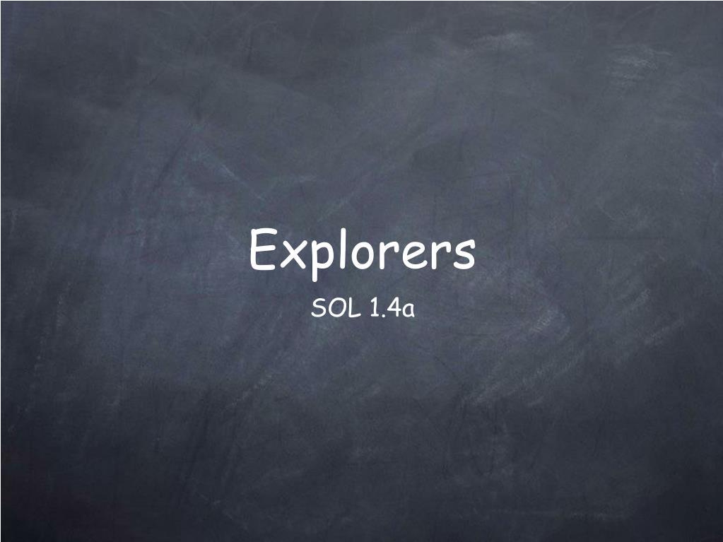 explorers l.