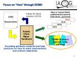 focus on how through scmh