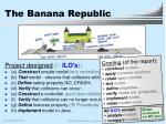 the banana republic