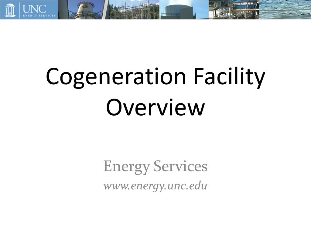 cogeneration facility overview l.