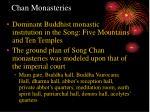 chan monasteries