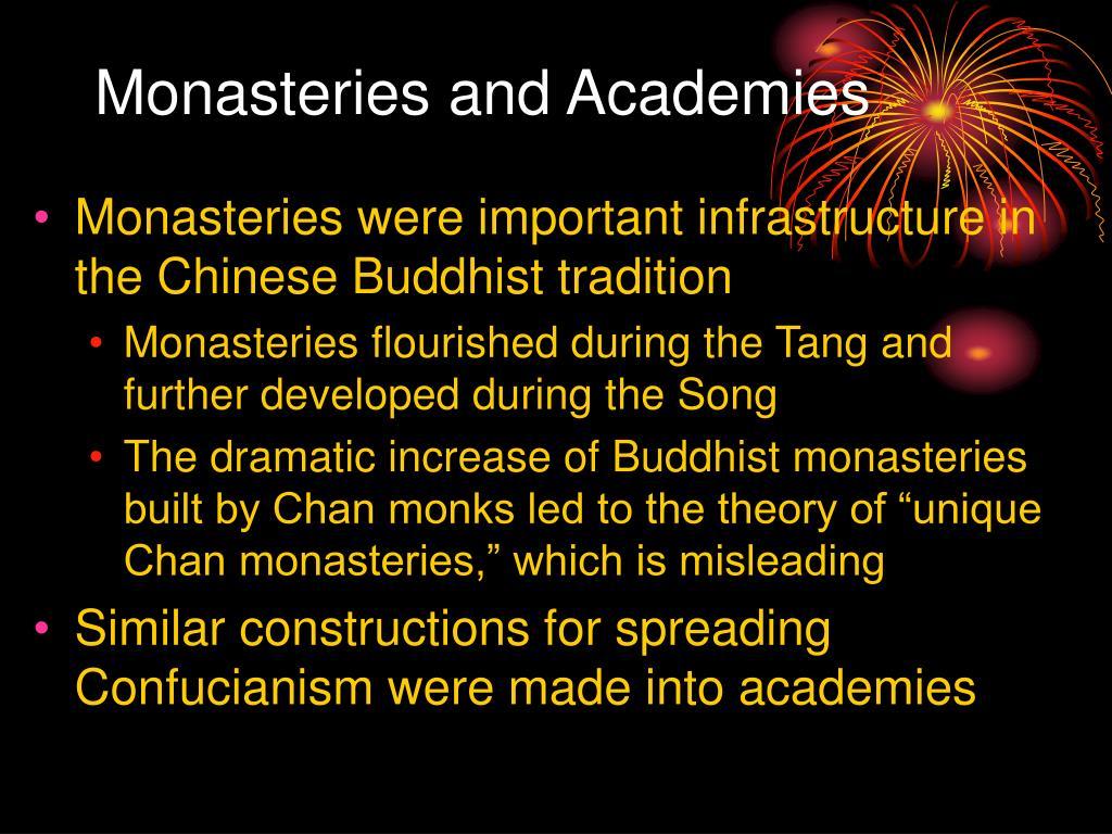 monasteries and academies l.