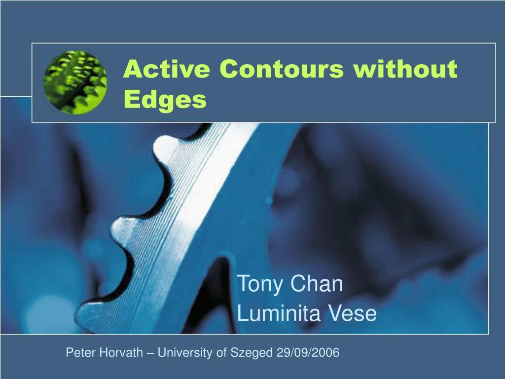 active contours without edges l.