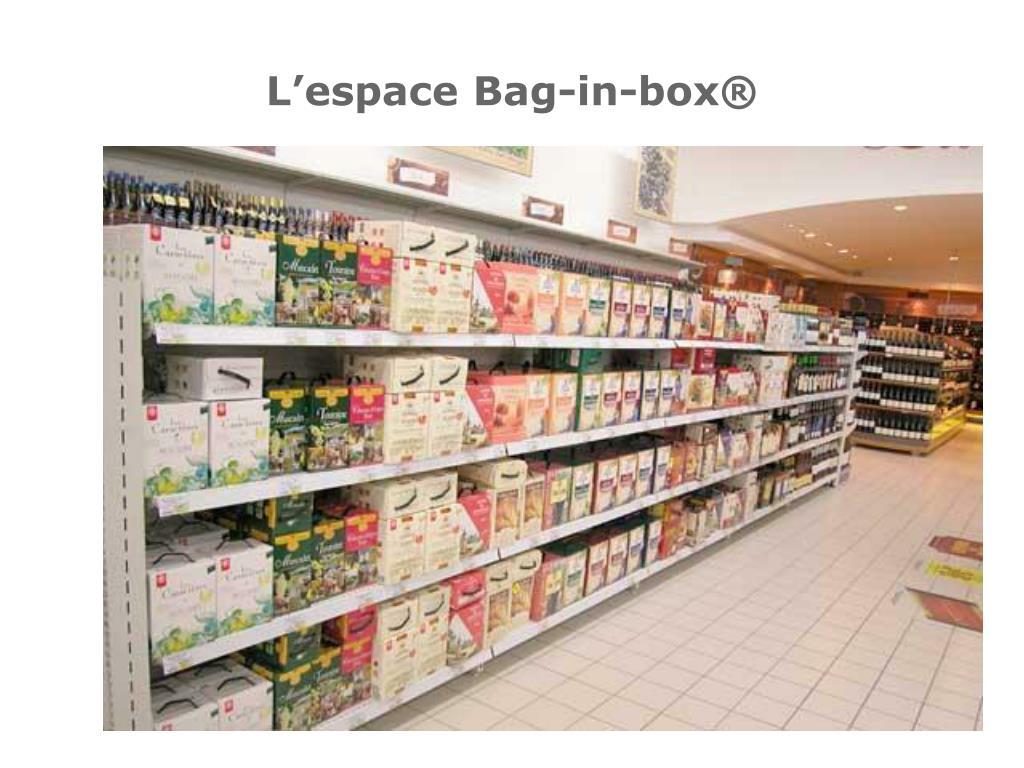 L'espace Bag-in-box®
