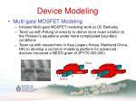 device modeling9