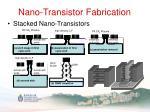 nano transistor fabrication5