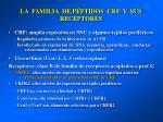 la familia de p ptidos crf y sus receptores