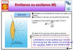 emittance ou excitance m