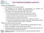 13 10 tratamiento psicol gico a polic as i