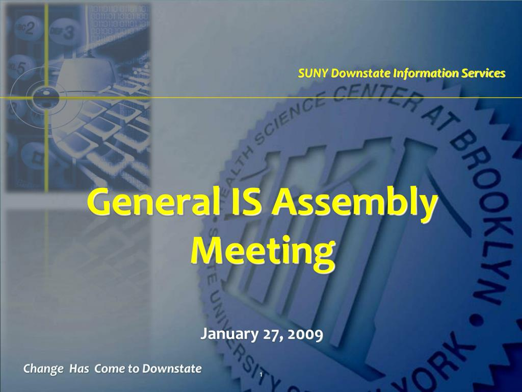general is assembly meeting l.