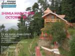 shimla marathon october 09