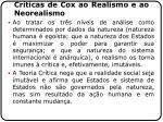 cr ticas de cox ao realismo e ao neorealismo20